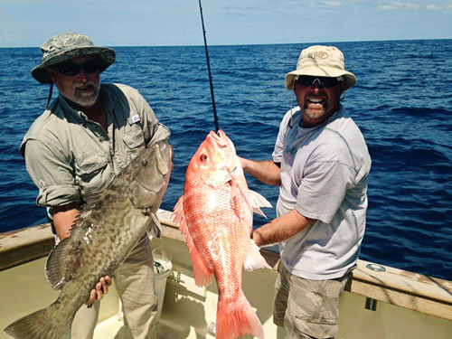 Grouper and Snapper Fishing Charters Daytona Beach