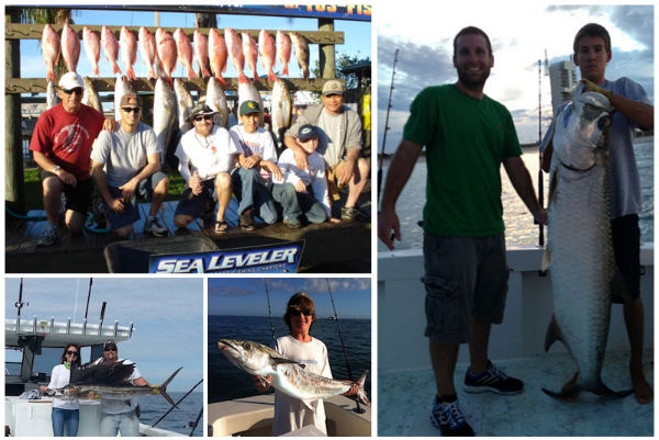 Sea Leveler Sport Fishing Full and half day fishing trips