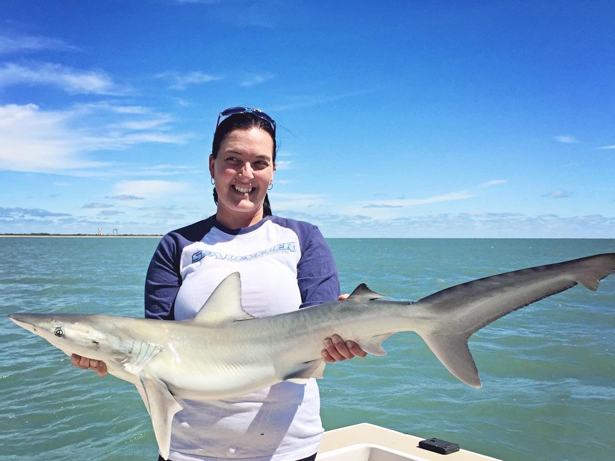 Nice shark port canaveral sealeveler sportfishing charters for Shark fishing from shore