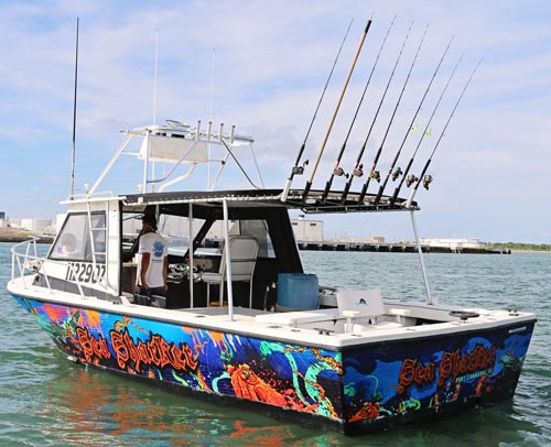 Deep sea fishing charter boats sealeveler sport fishing for Charter fishing sebastian fl